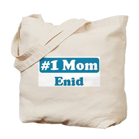 #1 Mom Enid Tote Bag