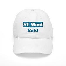 #1 Mom Enid Baseball Cap