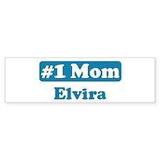 #1 Mom Elvira Bumper Bumper Sticker