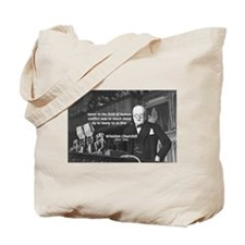 World War II Churchill Tote Bag