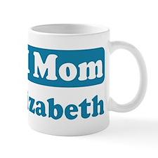 #1 Mom Elizabeth Mug