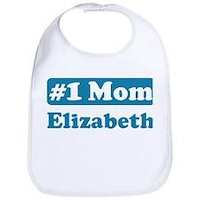 #1 Mom Elizabeth Bib