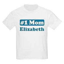 #1 Mom Elizabeth T-Shirt
