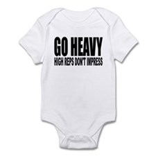 GO HEAVY Infant Bodysuit