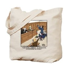 Entertaining the Witness Tote Bag