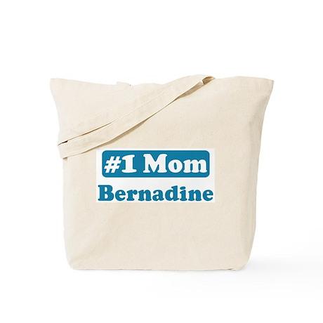 #1 Mom Bernadine Tote Bag