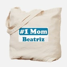 #1 Mom Beatriz Tote Bag