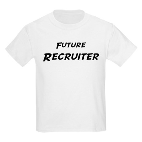 Future Recruiter Kids T-Shirt