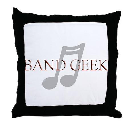 Band Geek Throw Pillow