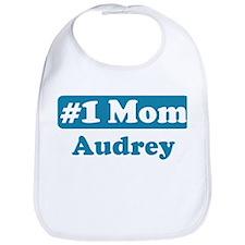 #1 Mom Audrey Bib