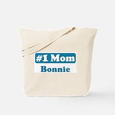 #1 Mom Bonnie Tote Bag