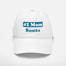 #1 Mom Bonita Baseball Baseball Cap