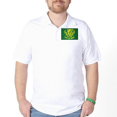 Ireland Green Flag Golf Shirt