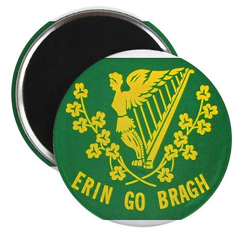 """Ireland Green Flag 2.25"""" Magnet (10 pack)"""
