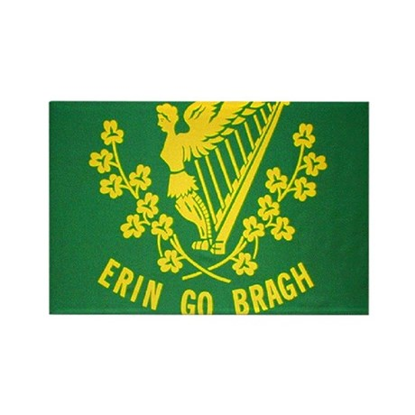 Ireland Green Flag Rectangle Magnet