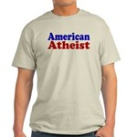 American Atheist Light T-Shirt