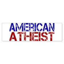 American Atheist Bumper Bumper Sticker