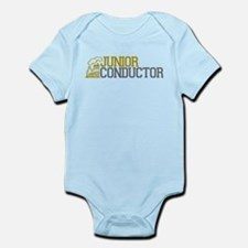 Junior Train Conductor Infant Bodysuit