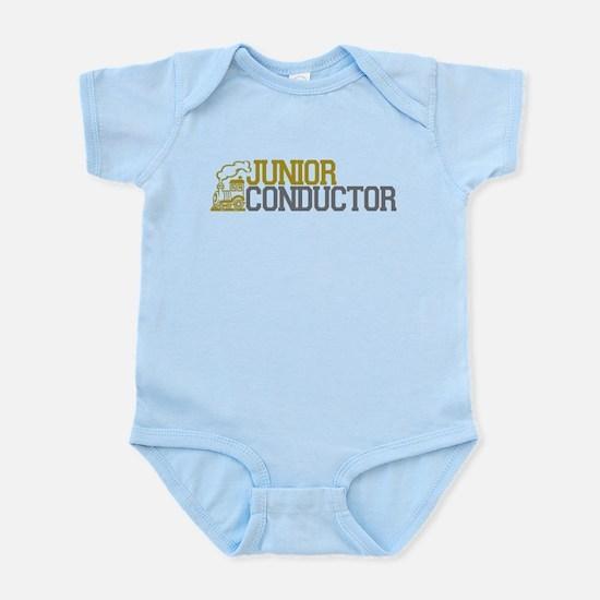 Junior Train Conductor Infant Bodysuit