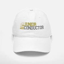 Junior Train Conductor Baseball Baseball Cap
