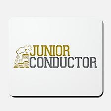Junior Train Conductor Mousepad