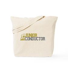 Junior Train Conductor Tote Bag