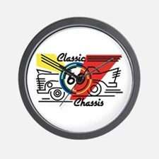 Classic Chassis 60th Birthday Wall Clock