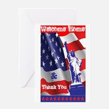Welcome Home & Thank You Greeting Card