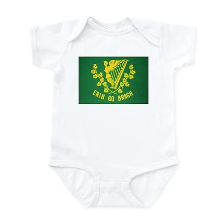 Ireland Green Flag Infant Creeper