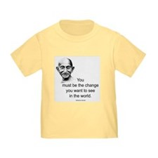 Gandhi - Be the Change T