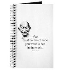 Gandhi - Be the Change Journal