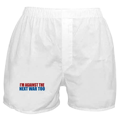 Against Next War Boxer Shorts