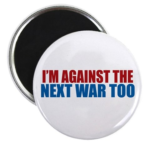 "Against Next War 2.25"" Magnet (10 pack)"