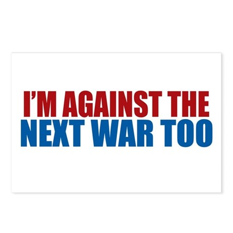 Against Next War Postcards (Package of 8)