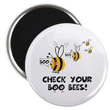 Funny boobies slogan Magnet