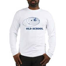Old School Solar System Long Sleeve T-Shirt
