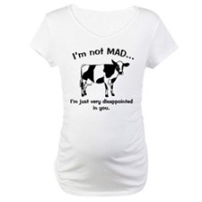 Cow Not Mad Just Disappointed Shirt