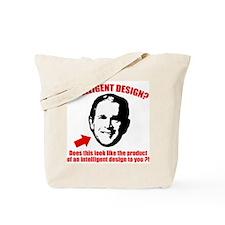 George Bush Intelligent Design Tote Bag