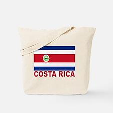 Costa Rica Flag Tote Bag