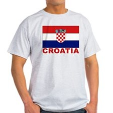 Croatia Flag T-Shirt