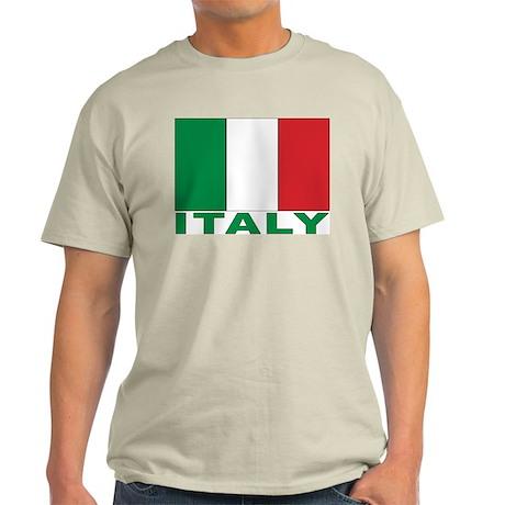 Italy Flag Light T-Shirt