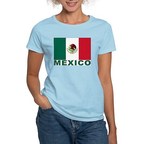 Mexico Flag Women's Light T-Shirt