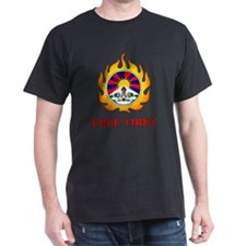Flame Free Tibet Black T-Shirt