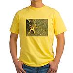 Squirrel Yellow T-Shirt