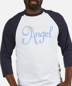 Angel Text Baseball Jersey