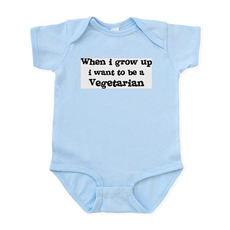 Be A Vegetarian Infant Creeper