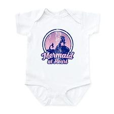 Retro Mermaid Infant Bodysuit
