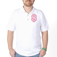 Pink Dollar Sign T-Shirt