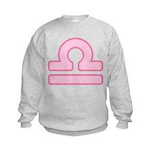Pink Zodiac Libra Sweatshirt