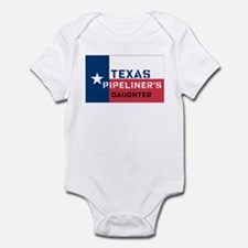 Daughter of a Texas Pipeliner Infant Bodysuit